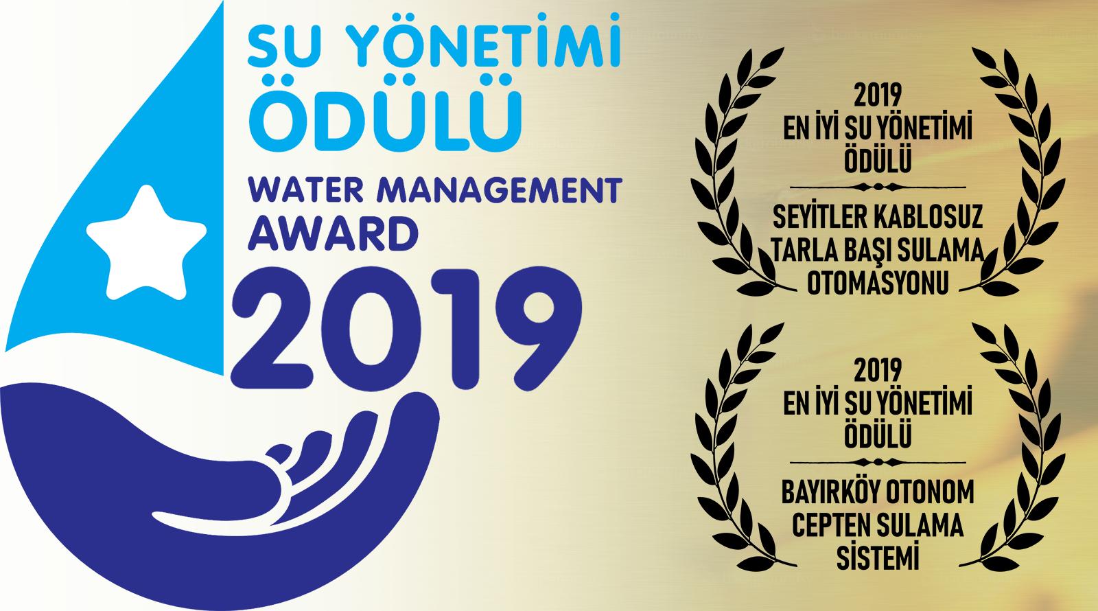 2019 Su Yönetimi Ödülleri