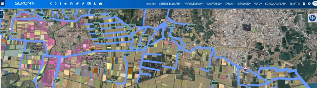 Dijital iletim hatları ve Ortofoto haritası
